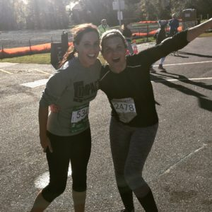 Paula and Nicole crossed the finish line strong!